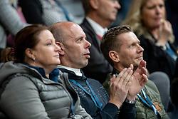 MINDERHOUD Hans Peter (NED), GAL Edward (NED)<br /> Göteborg - Gothenburg Horse Show 2019 <br /> FEI Dressage World Cup™ Final II<br /> Grand Prix Freestyle/Kür<br /> Longines FEI Jumping World Cup™ Final and FEI Dressage World Cup™ Final<br /> 06. April 2019<br /> © www.sportfotos-lafrentz.de/Stefan Lafrentz
