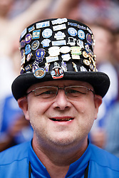 A Peterborough fan looks on - Photo mandatory by-line: Rogan Thomson/JMP - 07966 386802 - 30/03/2014 - SPORT - FOOTBALL - Wembley Stadium, London - Chesterfield FC v Peterborough United - Johnstone's Paint Trophy Final.