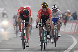 March 1, 2019 - Dubai, Emirati Arabi Uniti, Emirati Arabi Uniti - Foto LaPresse - Fabio Ferrari.01 Marzo 2019 Dubai (Emirati Arabi Uniti).Sport Ciclismo.UAE Tour 2019 - Tappa 6 - da Ajman a Jebel Jais -.180 km.Nella foto: Primoz ROGLIC TEAM JUMBO - VISMA vince la sesta tappa..Photo LaPresse - Fabio Ferrari.March 01, 2019 Dubai (United Arab Emirates) .Sport Cycling.UAE Tour 2019 - Stage 6 - From Ajman To Jebel Jais  -.112 miles..In the pic: Primoz ROGLIC TEAM JUMBO - VISMA wins stage 6 (Credit Image: © Fabio Ferrari/Lapresse via ZUMA Press)