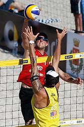 20140604 ITA: EK Beachvolleybal, Cagliari<br /> Daan Spijkers<br /> ©2014-FotoHoogendoorn.nl / Pim Waslander
