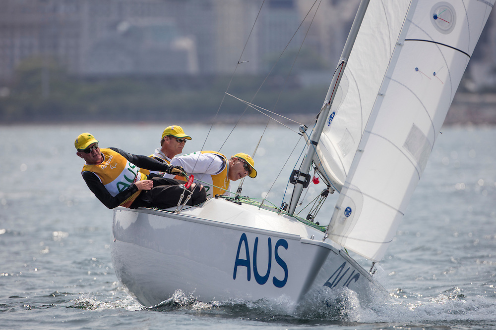 The Rio 2016 Paralympic Sailing Competition features 60 athletes from 23 nations, in 41 boats racing across three Paralympic disciplines. Racing runs from Monday 12 September through to Saturday 17 September 2016 with 65 male and 15 female sailors racing out of Marina da Gloria in Rio de Janeiro, Brazil. Sailing made its Paralympic debut at Sydney 2000 having previously been a demonstration sport at Atlanta 1996. For more information or requests please contact Daniel Smith at World Sailing on marketing@sailing.org or phone +44 (0) 7771 542 131.     <br /> <br /> Image is &quot;rights free&quot; for editorial use only.