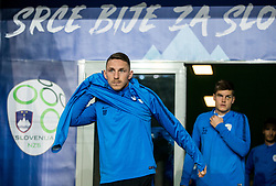 Rajko Rotman during practice session of Team Slovenia 1 day before UEFA Nations League match against Norway, on November 15, 2018 in SRC Stozice, Ljubljana, Slovenia. Photo by Vid Ponikvar / Sportida