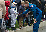 UK: Tim Peake visits Glasgow, 16 Oct.