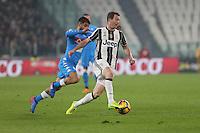 can - 28.02.2017 - Torino - Serie A 2016/17 - 11a giornata  -  Juventus-Napoli  nella  foto: Arkadiusz Milik