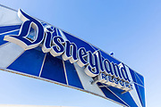 Disneyland Resort Updated Signage