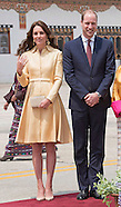 Kate Middleton & Prince William Arrival Bhutan