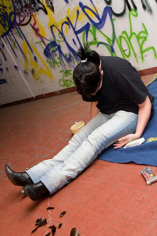 Symbolbild, Drogensucht; Junkie; Drogen; Heroin; Fixer; fixen; Stoned; Kriminalitaet