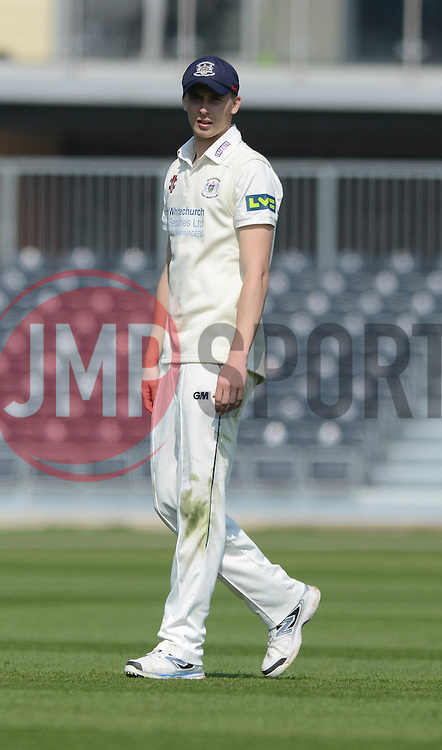 Gloucestershire's Craig Miles - Photo mandatory by-line: Dougie Allward/JMP - Mobile: 07966 386802 - 09/04/2015 - SPORT - Cricket - Bristol - County Cricket Ground - Gloucestershire County Cricket Club v Cardiff MCCU - Marylebone Cricket Club University Matches
