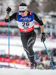 19.02.2015, Lugnet Ski Stadium, Falun, SWE, FIS Weltmeisterschaften Ski Nordisch, Langlauf, Damen, Sprint, im Bild Jovian Hediger (SUI) // during the Cross Country Ladies Sprint of the FIS Nordic Ski World Championships 2015 at the Lugnet Ski Stadium, Falun, Sweden on 2015/02/19. EXPA Pictures © 2015, PhotoCredit: EXPA/ JFK
