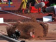 1.7.2012, Olympiastadion - Olympic Stadium, Helsinki, Finland..European Athletics Championship - Yleisurheilun EM-kisat..Long Jump Men - Miesten pituushyppy..Roni Ollikainen - Finland