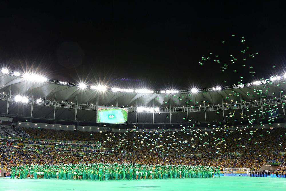 Rio de Janeiro_RJ, Brazil.<br /> <br /> Copa das Confederacoes 2013. Final da Copa das Confederacoes no estadio do Maracana, com Brasil x Espanha.<br /> <br /> The 2013 FIFA Confederations Cup. The last game of the Confederations Cup in the Maracana stadium with Brazil x Spain.<br /> <br /> Fotos: MARCUS DESIMONI / NITRO