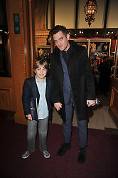 Actor MATTHEW HORNE and ? at the opening night of Totem by Cirque du Soleil held at The Royal Albert Hall, London on 5th January 2011.