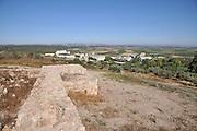 Israel, Ramat Hanadiv near Zichron Yaacov. Ancient agricultural settlement