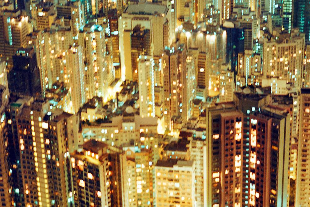 Cityscape. Hong Kong, China. 1998