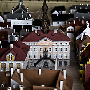 The same ancient city hall, in the model of ancient Narva, built by Frdor Shantsyn; of Belarusian origin, he was working as set designer in a kindergarten during the Soviet empire