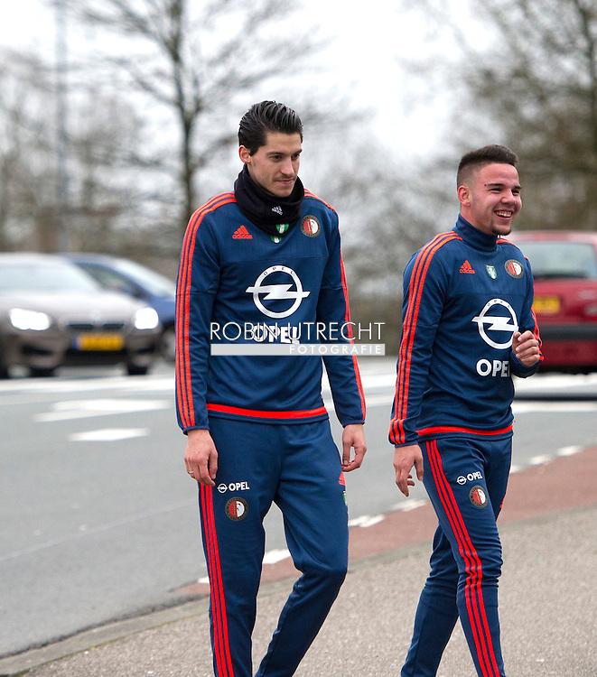 AMSTERDAM - Feyenoorder Vejinovic met dood bedreigd<br /> Crisis in De Kuip 02-02-2016 VOETBAL: TRAINING FEYENOORD: ROTTERDAM  Marko Vejinovic (Feyenoord)  COPYRIGHT MICHEL UTRECHT