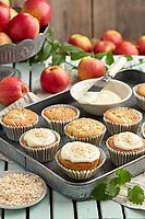 Motiv: Glutenfritt med äpple<br /> Recept: Katarina Carlgren<br /> Fotograf: Thomas Carlgren<br /> Användningsrätt: Publ en gång<br /> Annan publicering kontakta fotografen