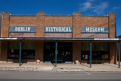 Exterior of the Dublin Historical Museum, Dublin, Texas, United States of America