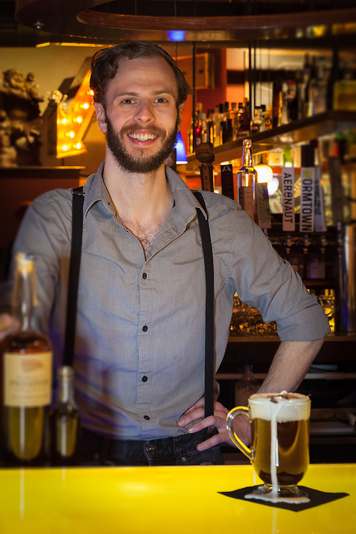 Opus Salem Bartender, Devin Jeffers