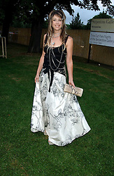 GELA TAYLOR wife of Duran Duran musician John Taylor at the annual Serpentine Gallery Summer Party co-hosted by Jimmy Choo shoes held at the Serpentine Gallery, Kensington Gardens, London on 30th June 2005.<br /><br />NON EXCLUSIVE - WORLD RIGHTS