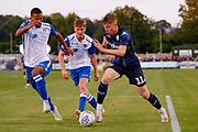Leeds United forward Jack Clarke (11)  during the Pre-Season Friendly match between Guiseley  and Leeds United at Nethermoor Park, Guiseley, United Kingdom on 11 July 2019.