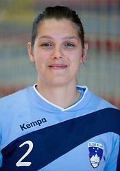 Portrait of Dolores Naglic of Slovenian Handball Women National Team, on June 3, 2009, in Arena Kodeljevo, Ljubljana, Slovenia. (Photo by Vid Ponikvar / Sportida)