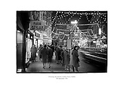 Christmas decorations on Grafton Street, Dublin.<br />