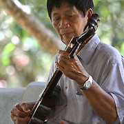 Musicians in  Ben Tre on the Mekong Delta, Vietnam.  Photography by Jose More