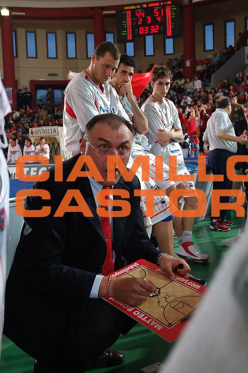 DESCRIZIONE : Teramo Lega A1 2005-06 Navigo.it Teramo Armani Jeans Milano <br /> GIOCATORE : Boniciolli Team Teramo <br /> SQUADRA : Navigo.it Teramo <br /> EVENTO : Campionato Lega A1 2005-2006 <br /> GARA : Navigo.it Teramo Armani Jeans Milano <br /> DATA : 26/03/2006 <br /> CATEGORIA : Timeout <br /> SPORT : Pallacanestro <br /> AUTORE : Agenzia Ciamillo-Castoria/M.Carrelli