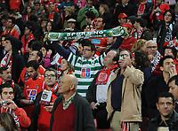 20111126: LISBON, PORTUGAL - SL Benfica vs Sporting  match for Portuguese League 2011/2012. In picture: Supporters . PHOTO: Alvaro Isidoro/CITYFILES