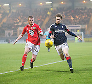 Dundee's Craig Wighton and St Mirren's Craig Storie - Dundee v St Mirren in the William Hill Scottish Cup at Dens Park, Dundee. Photo: David Young<br /> <br />  - © David Young - www.davidyoungphoto.co.uk - email: davidyoungphoto@gmail.com