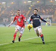 Dundee&rsquo;s Craig Wighton and St Mirren&rsquo;s Craig Storie - Dundee v St Mirren in the William Hill Scottish Cup at Dens Park, Dundee. Photo: David Young<br /> <br />  - &copy; David Young - www.davidyoungphoto.co.uk - email: davidyoungphoto@gmail.com
