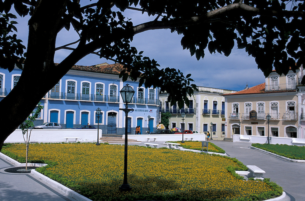Praca Benedito Leite, Praia Grande, Old Town, Sao Luis, Maranhao, Brazil