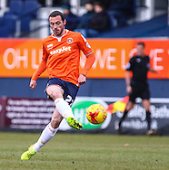 Michael Harriman of Luton Town during the Sky Bet League 2 match at Kenilworth Road, Luton<br /> Picture by David Horn/Focus Images Ltd +44 7545 970036<br /> 31/01/2015
