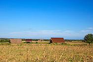 Barns near Sabalo, Pinar del Rio, Cuba.
