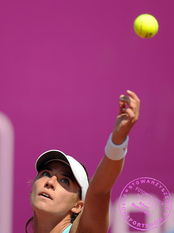 ALICJA ROSOLSKA FROM POLAND DURING FIRST ROUND TENNIS SONY ERICSSON WTA TOUR TOURNAMENT WARSAW OPEN 2009 IN WARSAW, POLAND...WARSAW , POLAND , MAY 18, 2009..( PHOTO BY ADAM NURKIEWICZ / MEDIASPORT )
