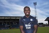 Dundee new boy Elton Ngwatala 17-05-2018