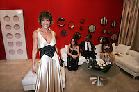 28 April 2006: Lisa Rinna of Soap Talk in the exclusive behind the scenes photos of celebrity television stars in the STAR greenroom at the 33rd Annual Daytime Emmy Awards at the Kodak Theatre at Hollywood and Highland, CA. Contact photographer for usage availability.