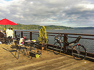 Late afternoon on the Hood Canal, Washington