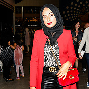 Bushra Shaikh of The Apprentice arrives at the Annual International Pakistan Prestige Awards (IPPA) at Indigo at The O2 on 9th September 2018, London, UK