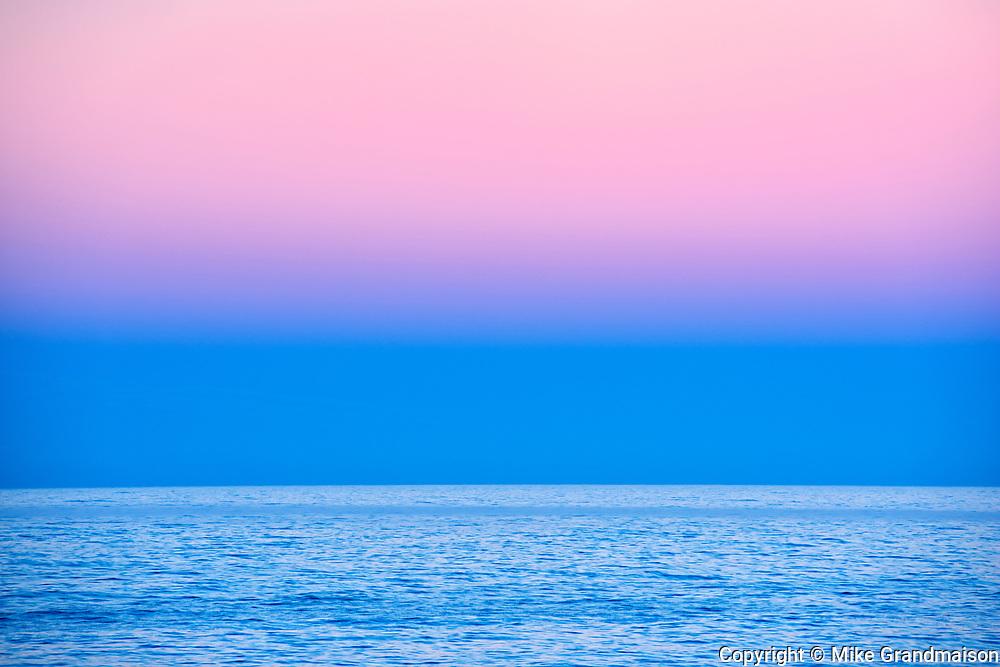 Dawn on Atlantic Ocean, Peggy's Cove, Nova Scotia, Canada