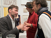 MAT COLLISHAW; RON ARAD; THOMAS HEATHERWICK, Royal Academy of Arts Summer Party. Burlington House, Piccadilly. London. 7June 2017