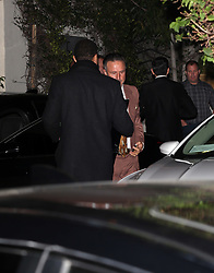 guests including Gwyneth Paltrow, Robert Downey Jr., David Arquette and Diane Keaton arriving at Jennifer Anistons 50th Birthday party in Los Angeles, CA. 09 Feb 2019 Pictured: David Arquette. Photo credit: Rachpoot/MEGA TheMegaAgency.com +1 888 505 6342