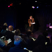 Poet and lyricist Paul Muldoon is interiewed by Music Hall Executive Director Patricia Lynch to open the 2013 Portsmouth Singer Songwriter Festival at The Music Hall Loft in Portsmouth, NH