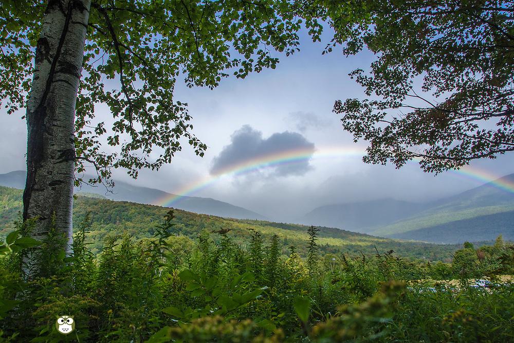 Pinkham Notch rainbow near the Mt Washington Auto Road
