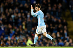 David Silva of Manchester City is substituted after making his return from injury - Mandatory byline: Matt McNulty/JMP - 01/12/2015 - Football - Etihad Stadium - Manchester, England - Manchester City v Hull City - Capital One Cup - Quarter-final