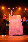Photos of psychedelic indie pop band Of Montreal performing at the Pageant in St. Louis on October 21, 2010.