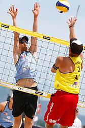 20140606 ITA: EK Beachvolleybal, Cagliari<br /> Robert Meeuwsen<br /> ©2014-FotoHoogendoorn.nl / Pim Waslander