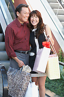 Couple on Shopping Trip