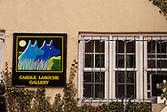 Santa Fe, New Mexico, Canyon Road, art gallery
